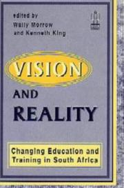 Cover of: Vision and Reality