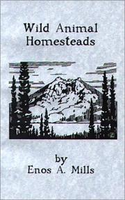 Cover of: Wild Animal Homesteads
