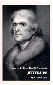 Cover of: Jefferson : Character in Time