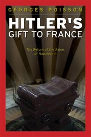 Cover of: Hitler's Gift to France
