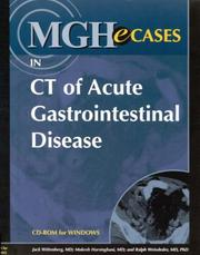 Cover of: MGHeCases in CT of Acute Gastrointestinal Disease (CD-ROM for Windows, Institutional Version)