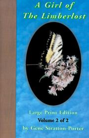 Cover of: A Girl of the Limberlost, Volume 2