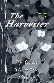Cover of: The Harvester, Vol. 1