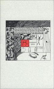 Cover of: Premiere Generation Ink, Volume 2 Number 2 Summer 2001