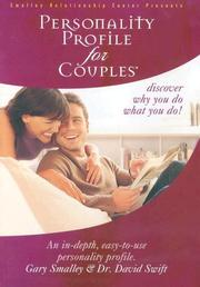 Cover of: Personality Profile for Couples