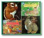 Cover of: Smithsonian Backyard Cottontail and Chipmunk Box