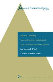 Cover of: Advances in Developing Human Resources: Action Learning
