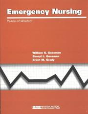 Cover of: Emergency Nursing