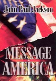 Cover of: Message to America