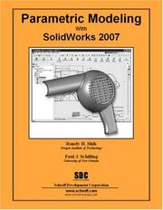 Cover of: Parametric Modeling with SolidWorks 2007