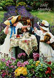 Cover of: Afternoon Tea 2002 Monthly Calendar Planner