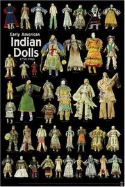 Cover of: Early American Indian Dolls (Primitive Poster Series)