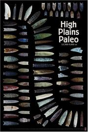 Cover of: High Plains Paleo (Primitive Poster Series)