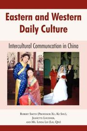 Cover of: Eastern and Western Daily Culture