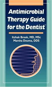 Cover of: Antimicrobial Therapy Guide for the Dentist