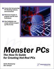Cover of: Monster PCs