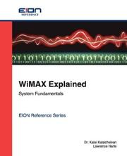Cover of: WiMax Explained; System Fundamentals