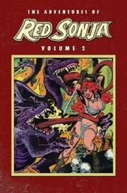 Cover of: The Adventures of Red Sonja, Vol. 2 (Marvel)