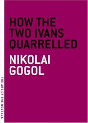 Cover of: How the Two Ivans Quarrelled (The Art of the Novella)