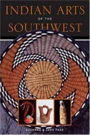 Cover of: Indian Arts of the Southwest
