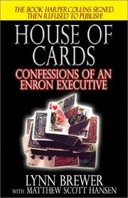 Cover of: House of Cards