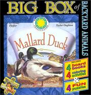 Cover of: Big Box of Backyard Animals (Big Box of Board Books Series)
