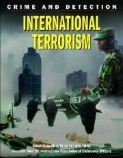 Cover of: International Terrorism (Crime and Detection)