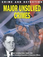 Cover of: Major Unsolved Crimes (Crime and Detection)