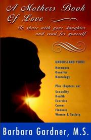 Cover of: A Mother's Book of Love