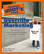 Cover of: The Complete Idiot's Guide to Guerrilla Marketing (Complete Idiot's Guide to)