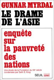 Cover of: Le drame de l'Asie