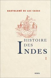 Cover of: Histoire des Indes, tome 1