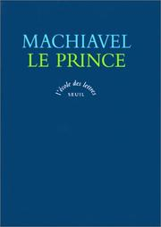 Cover of: Le Prince