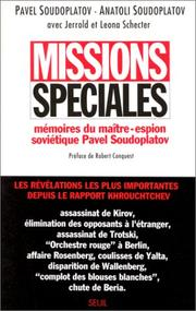 Cover of: Missions spéciales