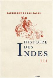 Cover of: Histoire des Indes, tome 3