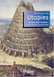 Cover of: Dictionnaire des utopies