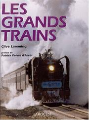Cover of: Les grands trains