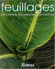 Cover of: Feuillages