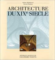 Cover of: Architecture du XIXe siècle