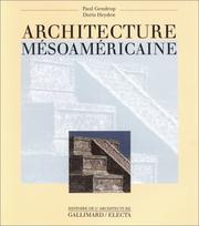 Cover of: Architecture mésoaméricaine