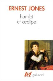 Cover of: Hamlet et Oedipe