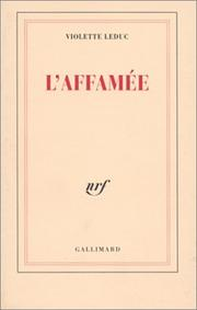 Cover of: L Affamee, L'