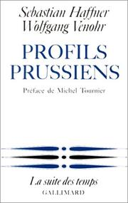 Cover of: Profils prussiens