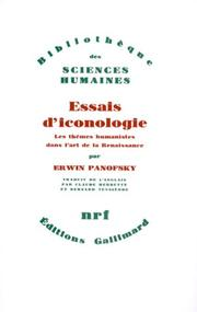 Cover of: Essais d'iconologie