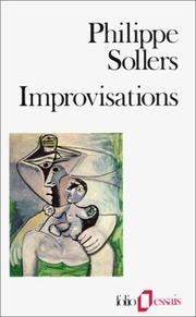 Cover of: Improvisations