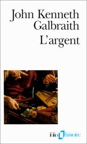 Cover of: L'Argent