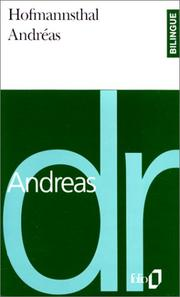 Cover of: Andréas