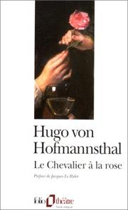 Cover of: Le chevalier à la rose