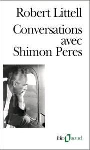 Cover of: Conversations avec Shimon Peres