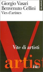 Cover of: Vies d'artistes (édition bilingue, français-italien)